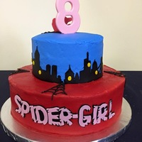 Happy Birthday Spidergirl   Birthday cake for that little Tomboy in your life