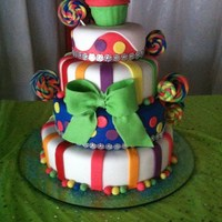 Candy Land Candy Land cake. Sweet 16