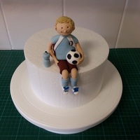 Soccer Figurine simple soccer figurine - if you would like to know how to make it