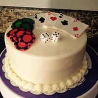 Gambling Themed Cake This was a last minute throw together cake. Like a few hours in advance. It was a test now fast I could come up with *something* for my...