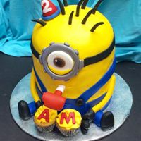 Blowout Minion This is my third Minion and I try to do each one a little differently. Made a party blowout for his mouth. :)