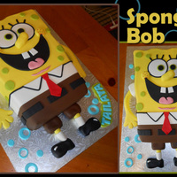Sponge Bob I made this cake for my granddaughter's birthday. When we were doing research together on her BD cake, I was looking at his overall...
