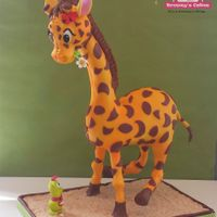A Cute 3D Giraffe ..... I made this Giraffe at a workshop