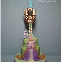 Rapunzel Cake For My Granddaughter  I made this cake for my granddaughter's Rapunzel themed 5th birthday party. She went to Disney World this summer where she was...