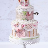 Vintage Ballet Cake Yesterday I delivered this vintage shabby chic ballet cake. It is a little different from the usual ballet cakes you find on the internet,...