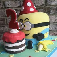 Baby Minion 2 year old birthday party!