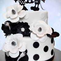Mickey And Minnie Wedding Cake Wedding cake for a couple of Disney fans