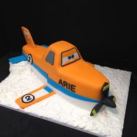 Dusty The Plane One of my regular clients order this for her littles guy's 2nd birthday.