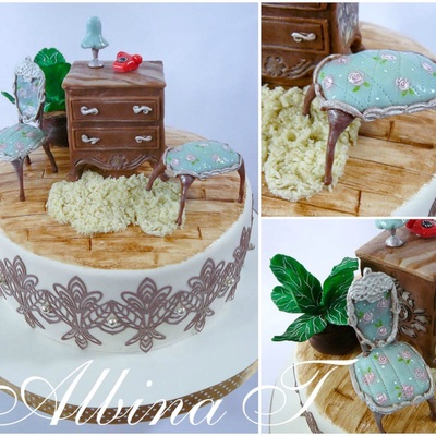 Cake With Furniture