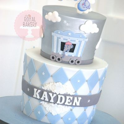 Baby Mine Dumbo Baby Shower Cake