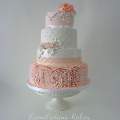 Wedding Cake Peach