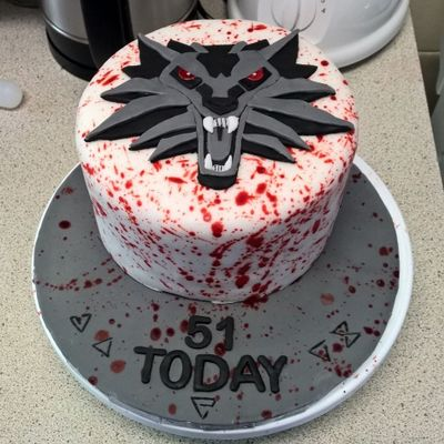 The Witcher 3 Cake