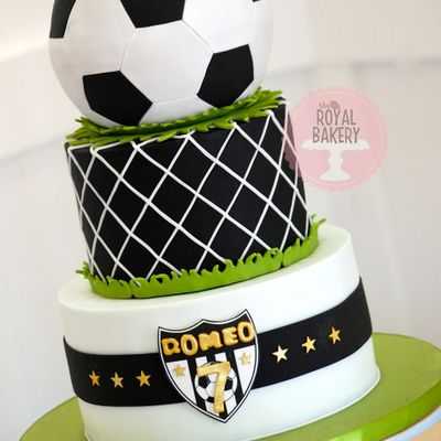 Soccer/football Cake