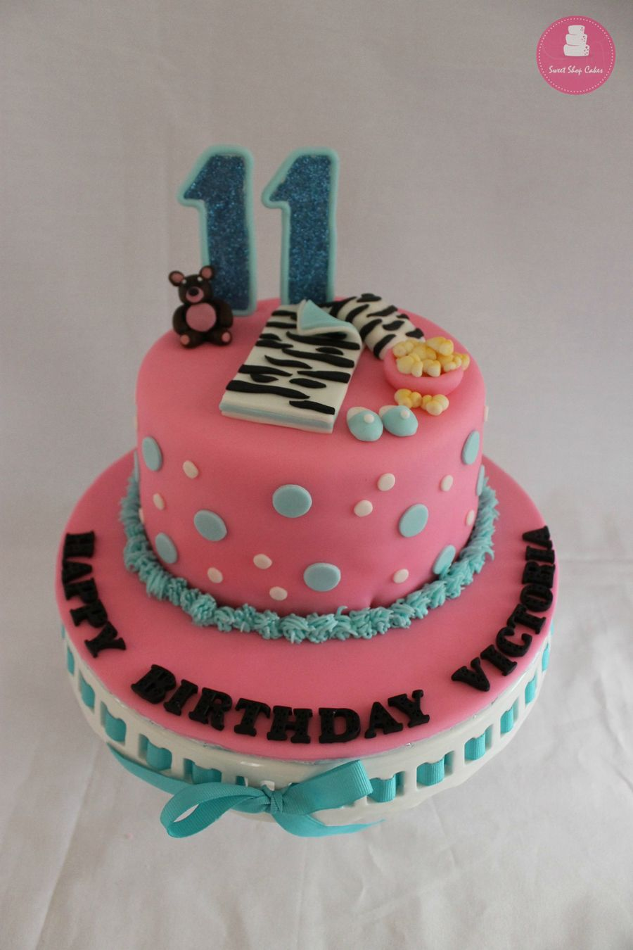 Slumber Party Birthday Cake - CakeCentral.com