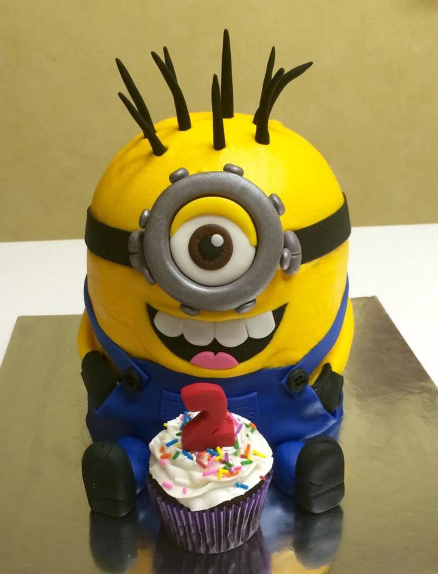 My First Minion Cake on Cake Central