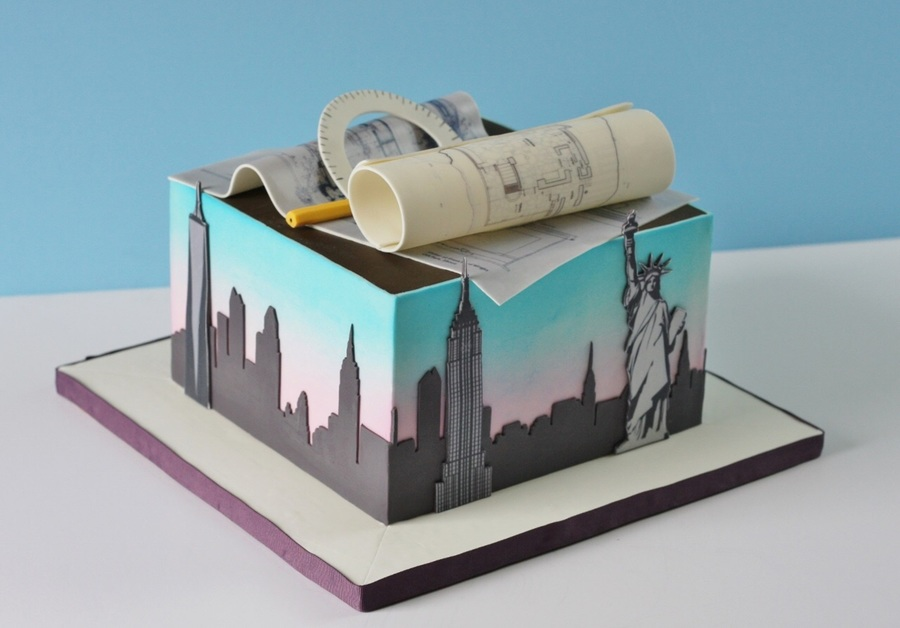Cake for an architect for An architect