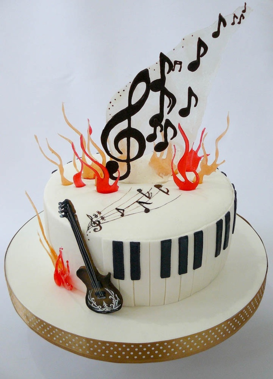Music on Cake Central