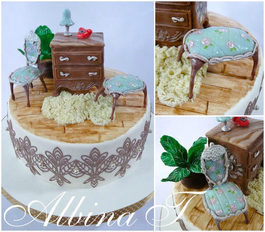 Cake With Furniture on Cake Central