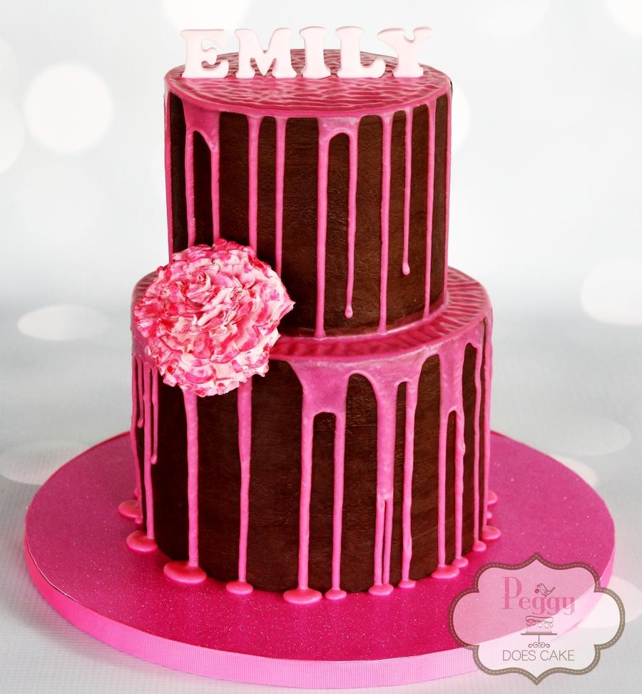 Zehrs Wedding Flowers: Ks Inspired Drizzle Cake