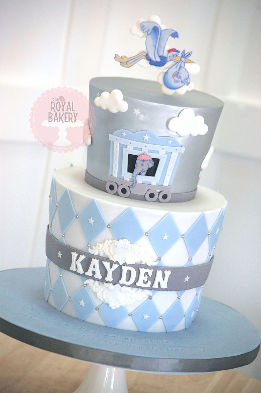Baby Mine Dumbo Baby Shower Cake Cakecentral Com
