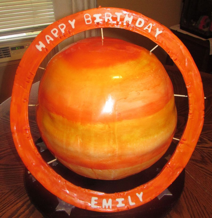 planet saturn made of candy - photo #37