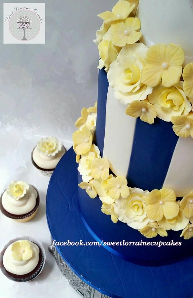 Engagment Cake - CakeCentral.com