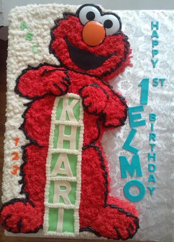 Elmo Themed Birthday Cake On Central