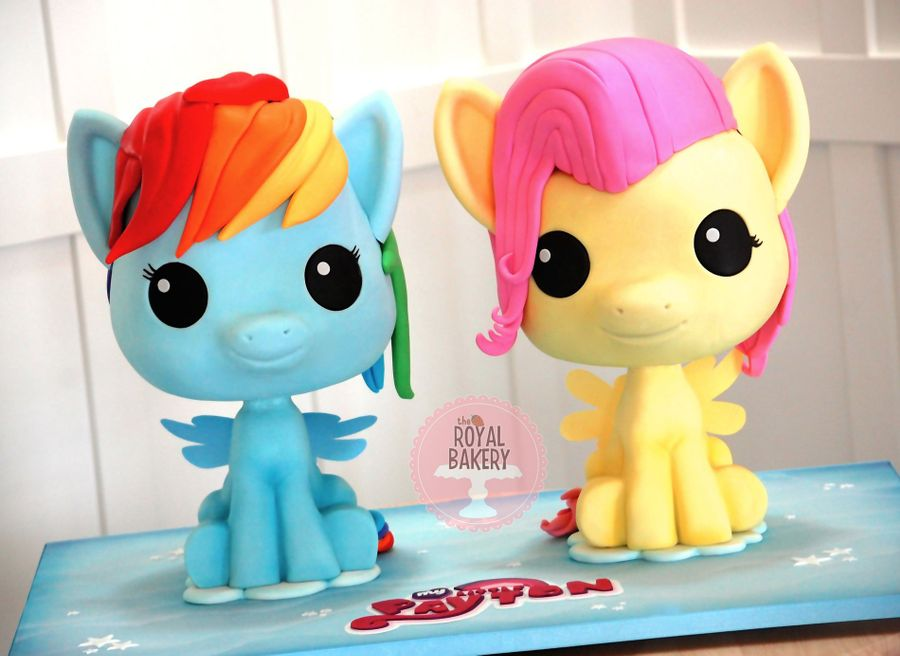 My Little Pony Chibi Cakes on Cake Central