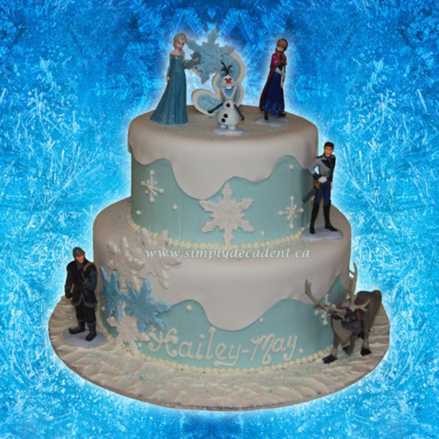 Disney Frozen Olaf Birthday Cake