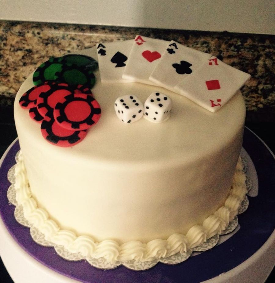 Gambling Themed Cake on Cake Central