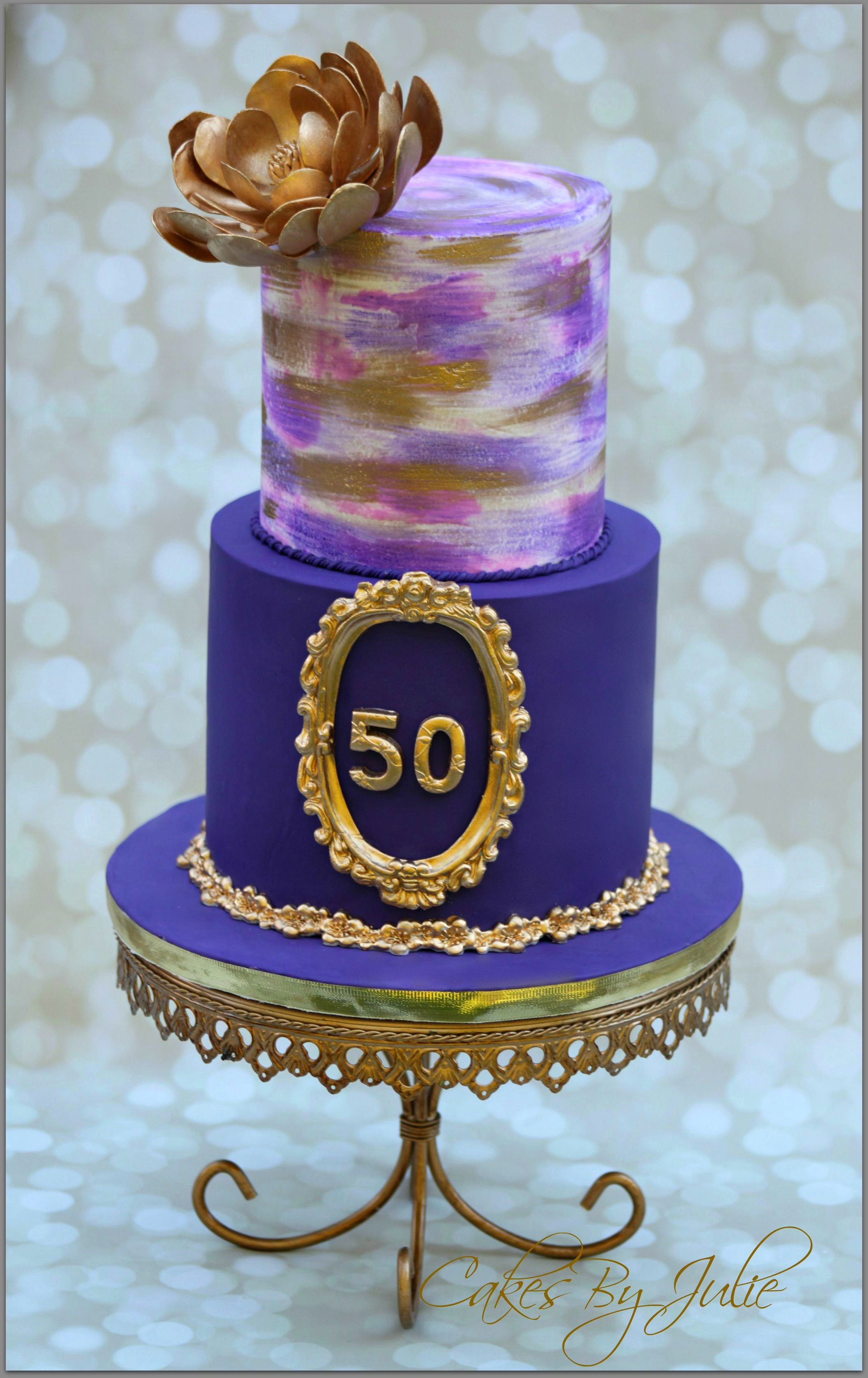 Remarkable 50Th Birthday Cake Cakecentral Com Personalised Birthday Cards Bromeletsinfo