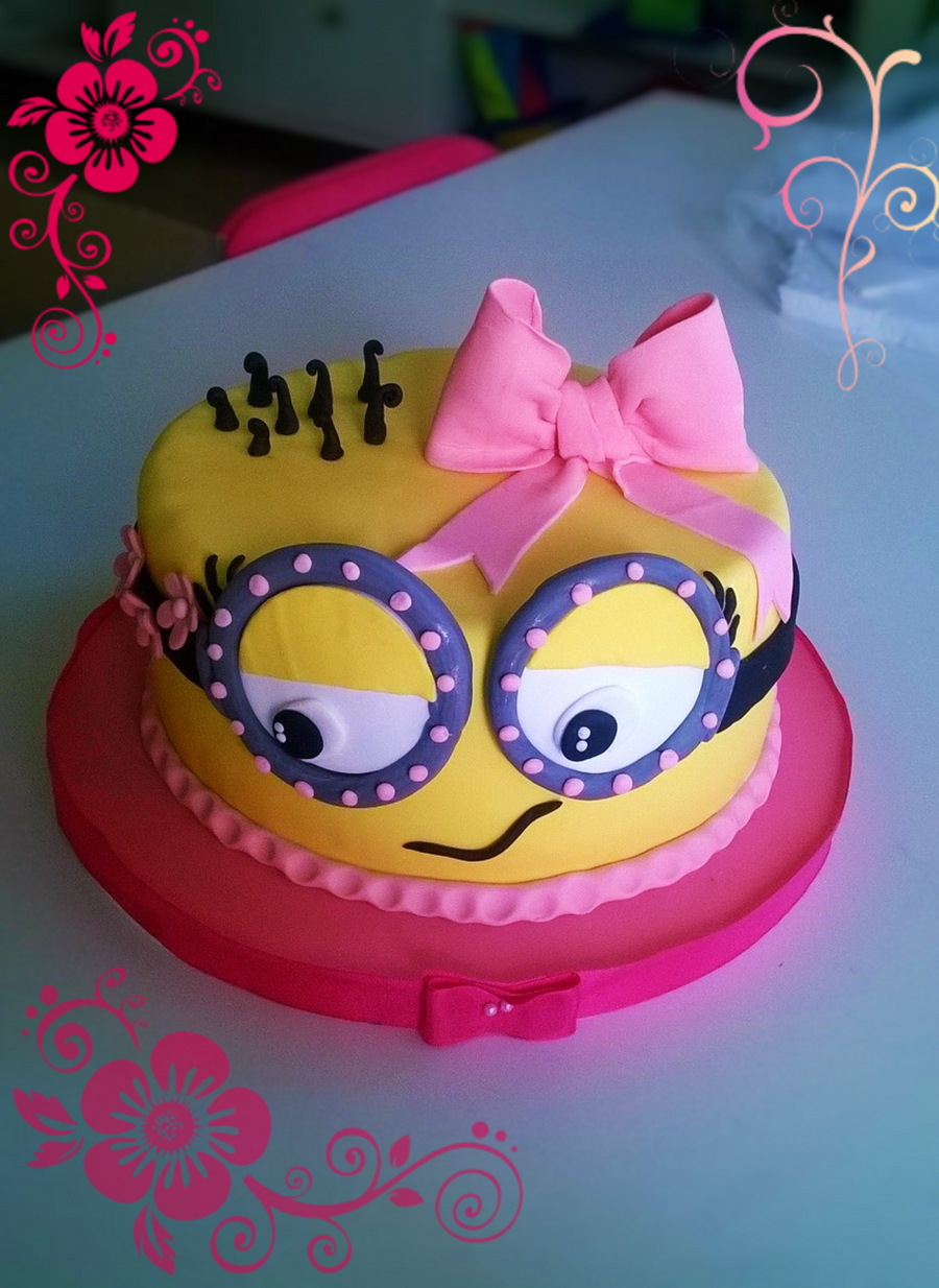 Minion Girl Cakecentral Com