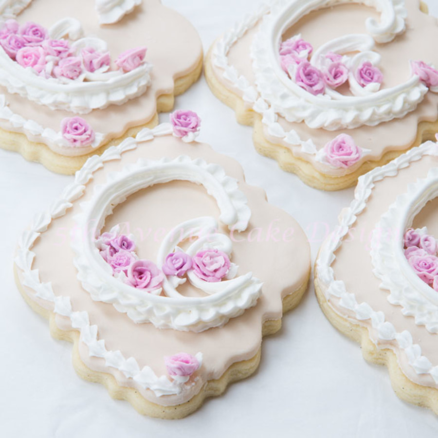 Royal Icing Lambeth Wedding Cookies on Cake Central
