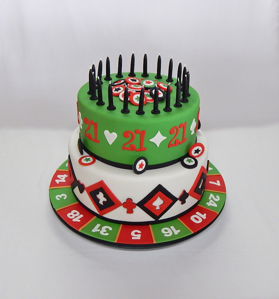 Admirable Casino 21St Birthday Cake Cakecentral Com Funny Birthday Cards Online Barepcheapnameinfo