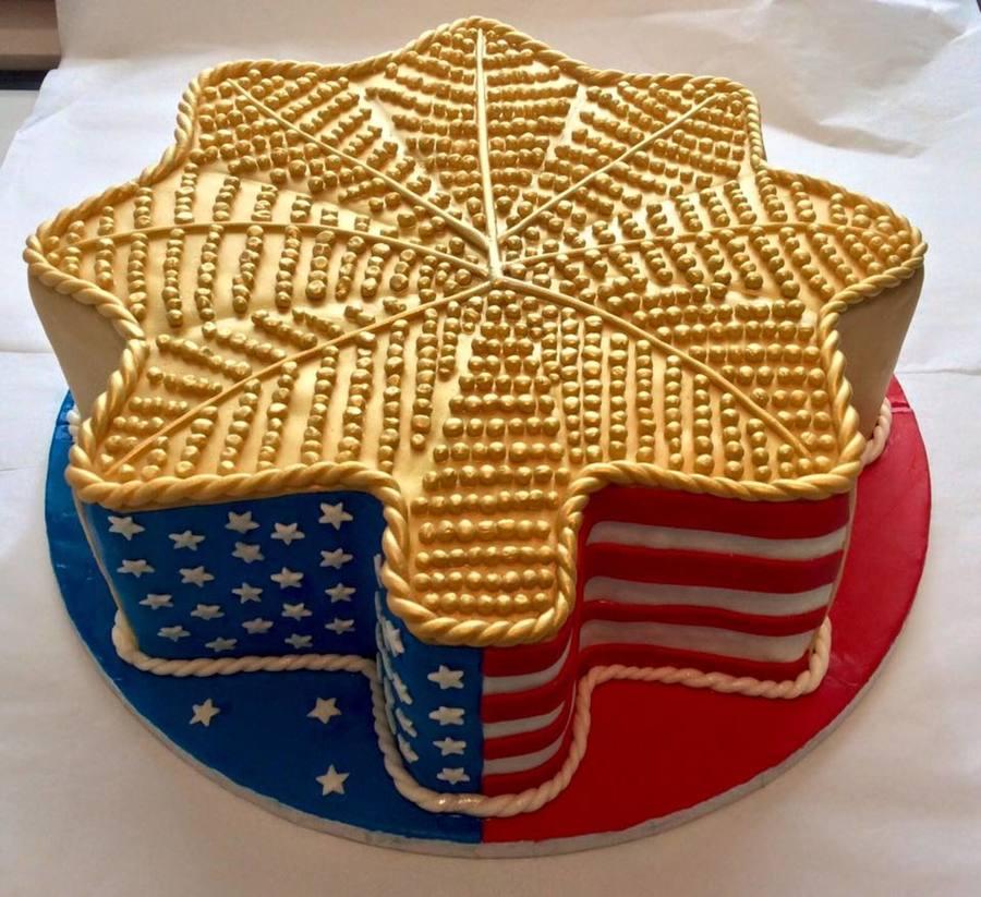 Usaf Major Promotion Cake Cakecentral Com
