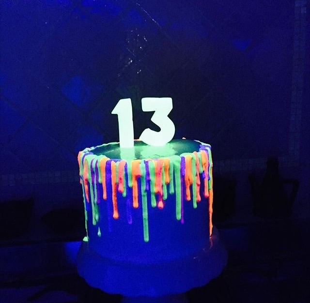 Birthday Cakes For Glow In The Dark