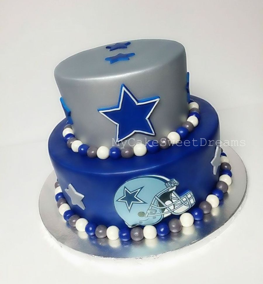 Football Themed Wedding Cakes
