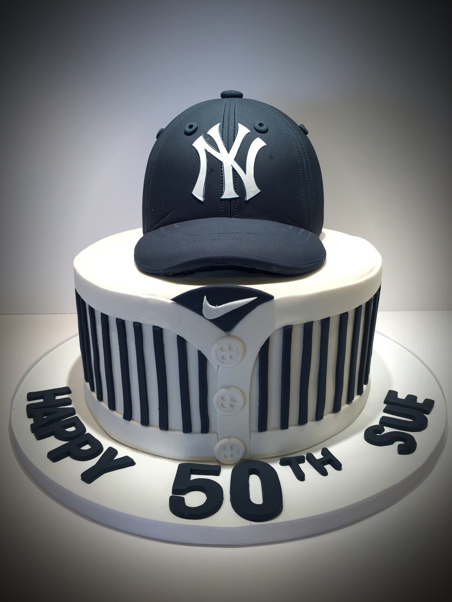 New York Yankees Birthday Cake Ideas