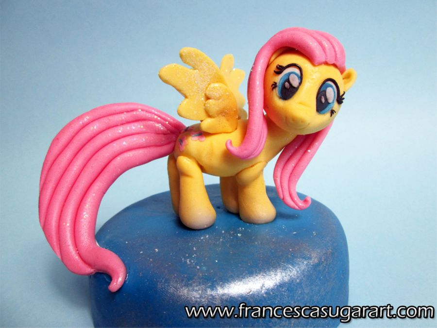 Fluttershy Form My Little Pony Out Of Fondangt on Cake Central