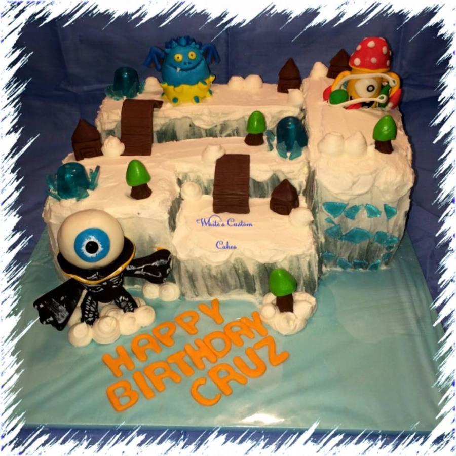 Skylanders Birthday Cake CakeCentralcom