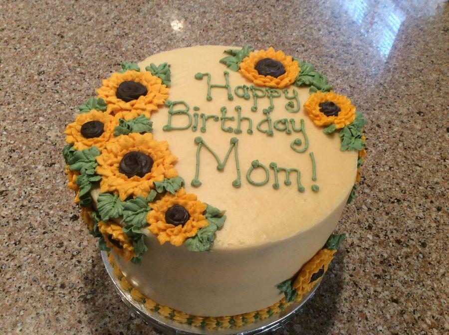 Strange Sunflower Birthday Cakecentral Com Funny Birthday Cards Online Necthendildamsfinfo
