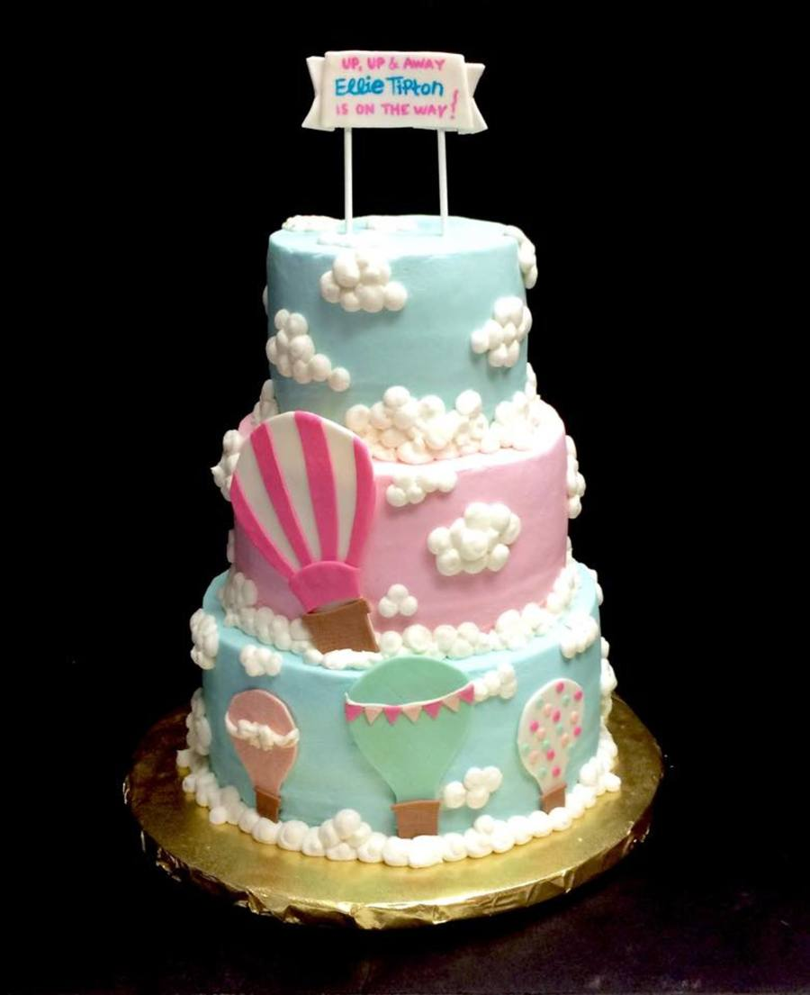 Hot Air Balloon Baby Shower Cake Cakecentral Com