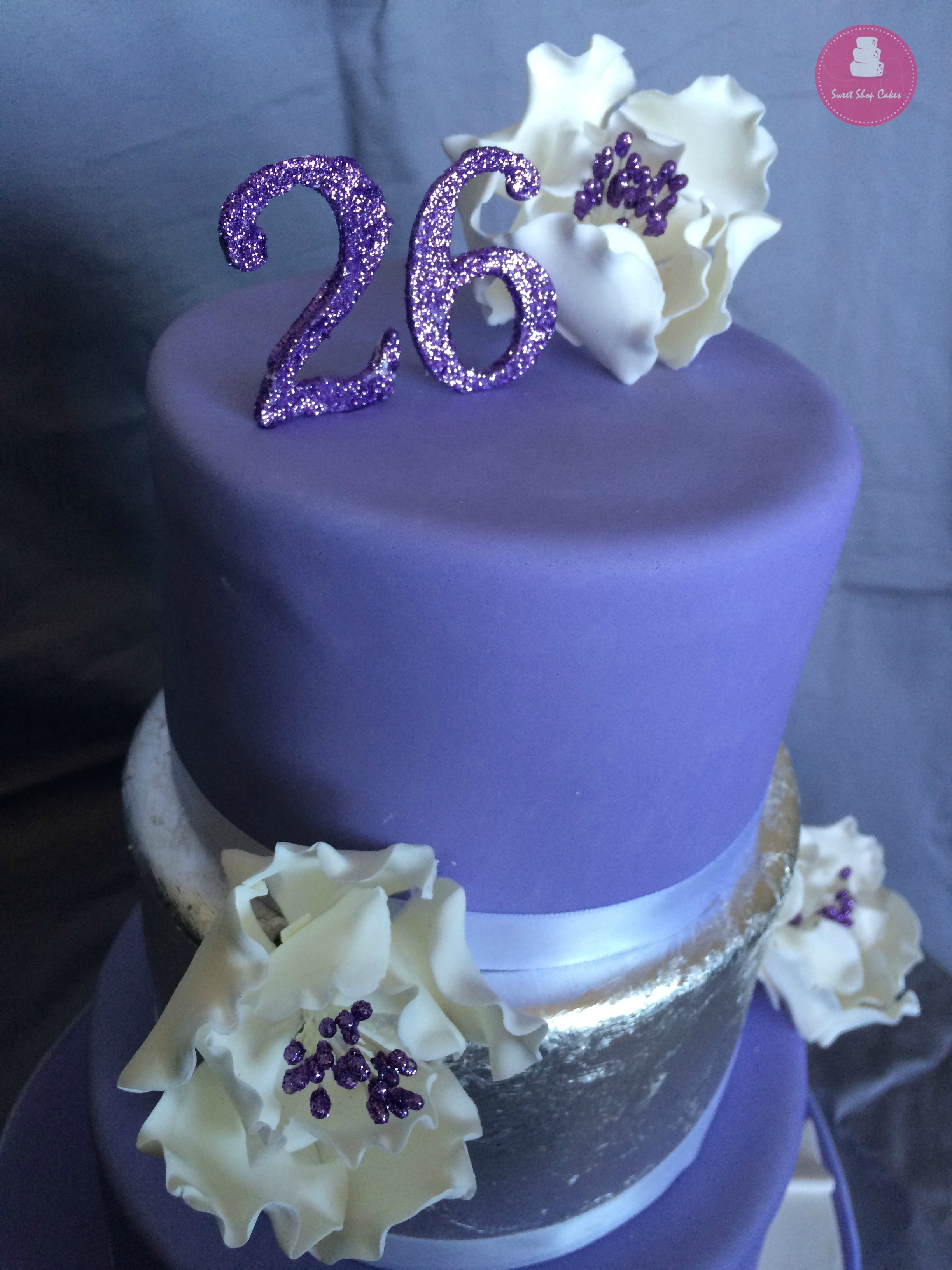 Elegant 26Th Birthday Cake CakeCentralcom