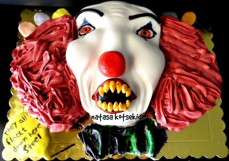Image Result For Scary Clown Birthday Cake