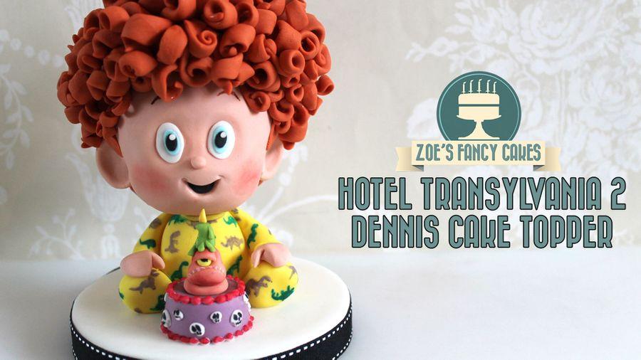 Hotel Transylvania 2 Cake Topper Baby Dennis On Central