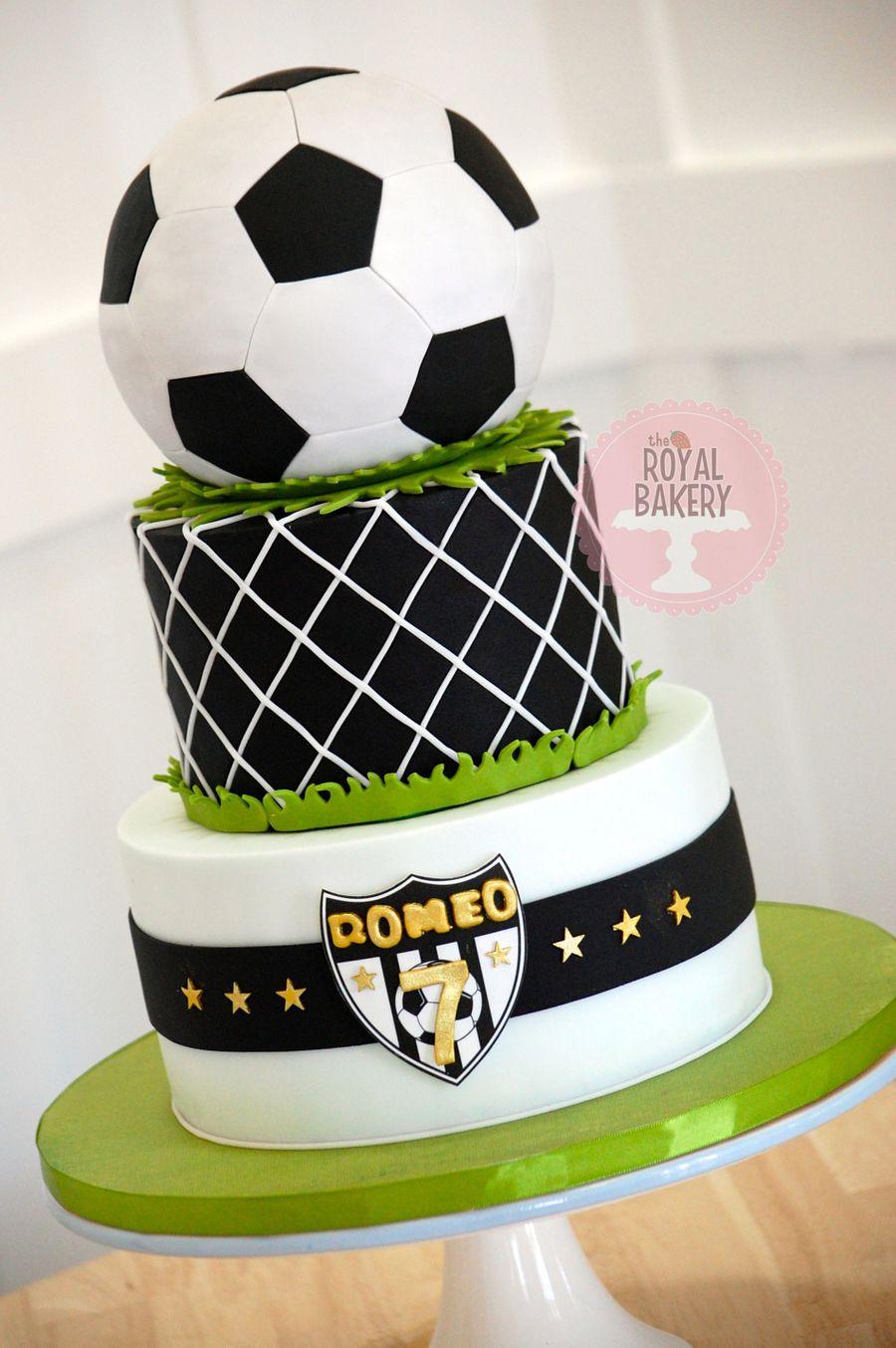 Soccer  Football Cake