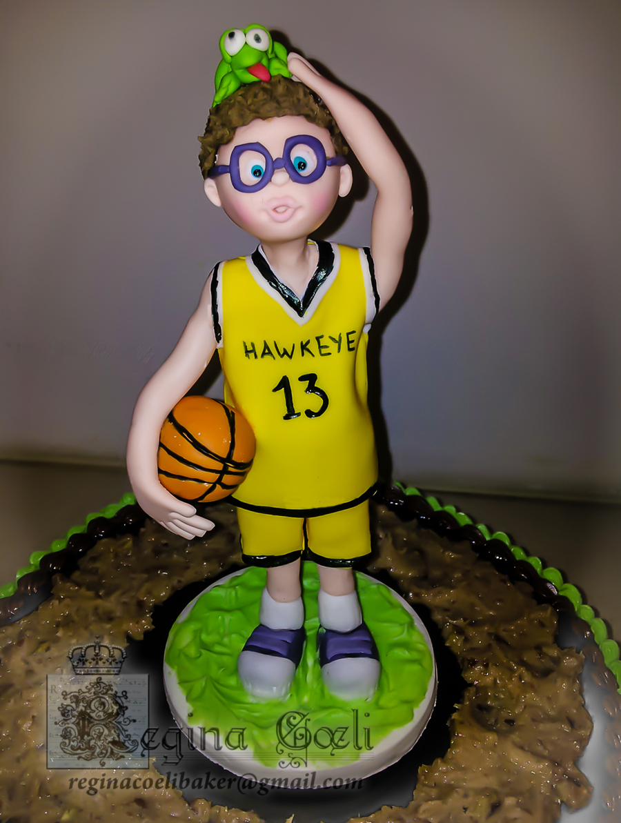 Young Hawk-Eye Basketball Player - CakeCentral.com