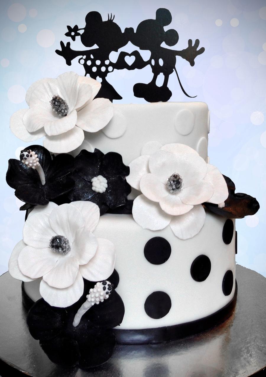 Mickey And Minnie Wedding.Mickey And Minnie Wedding Cake Cakecentral Com