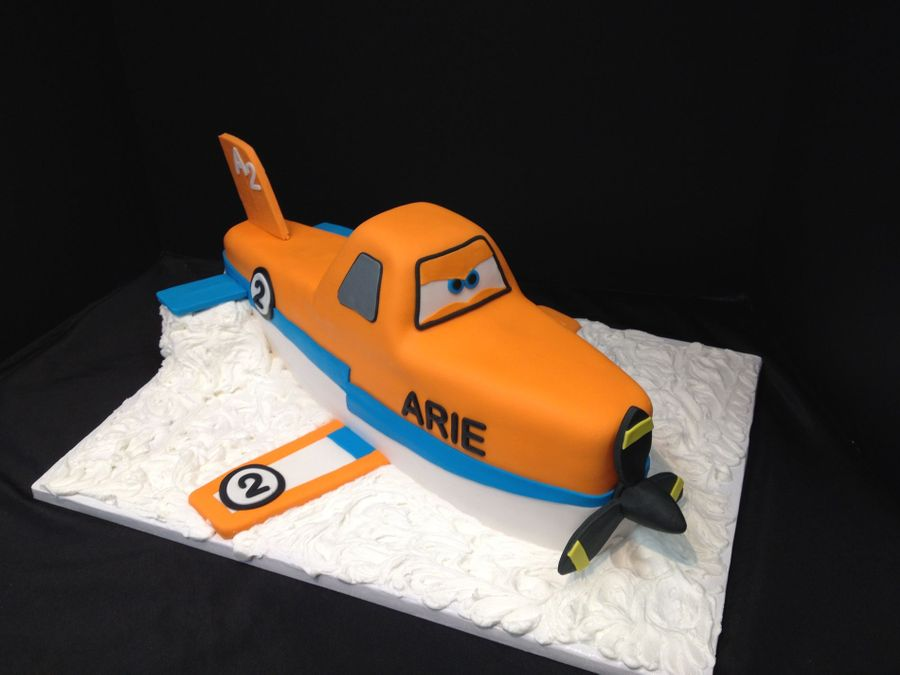 Dusty The Plane on Cake Central