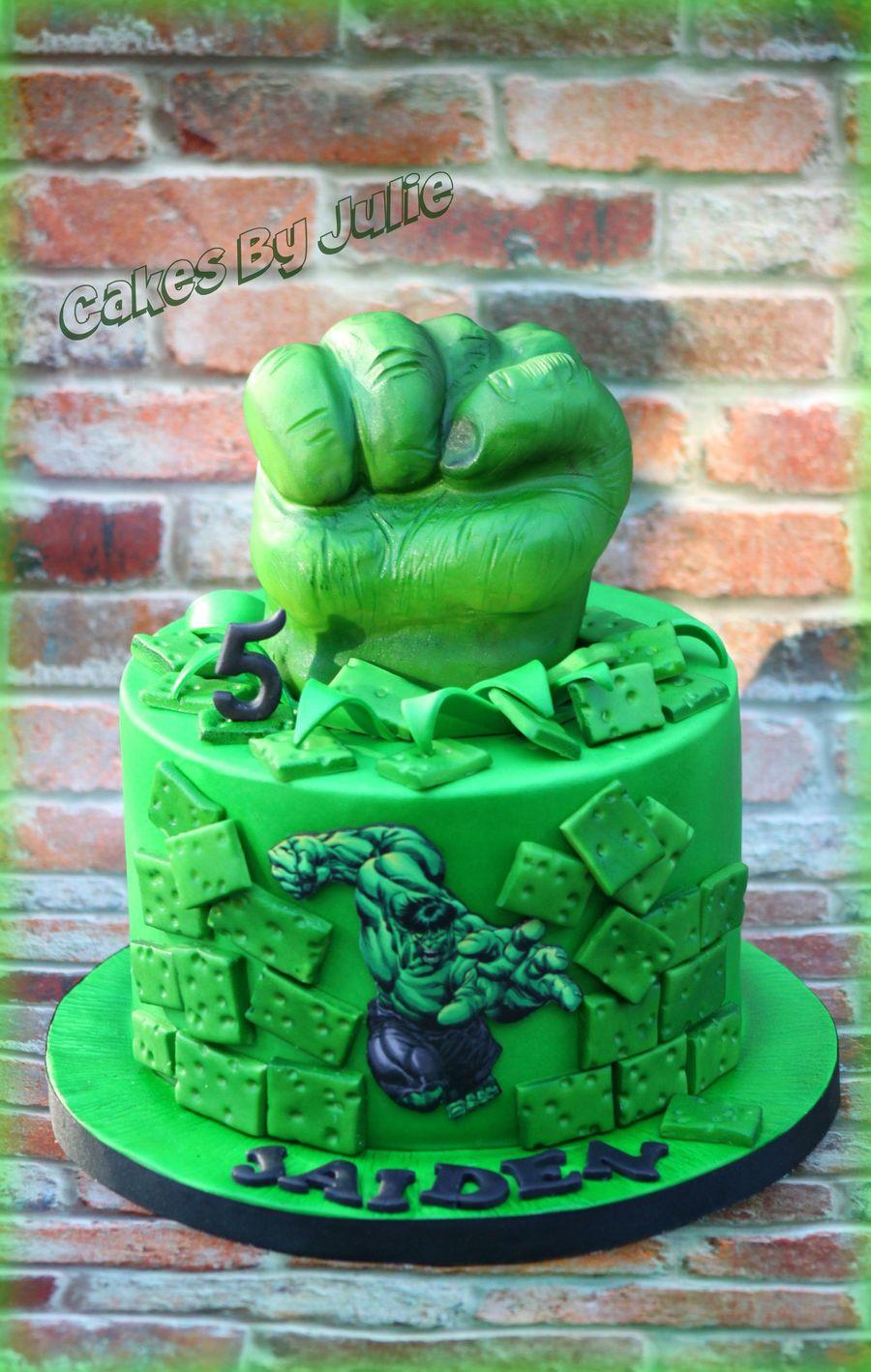 Hulk Cake CakeCentralcom